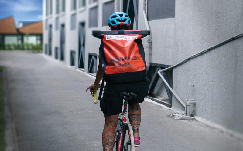News, Bike Courier