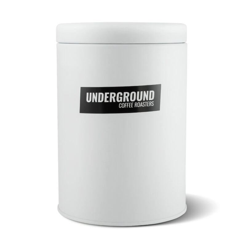Coffee Storage, air tight coffee canister by Underground Coffee Roasters