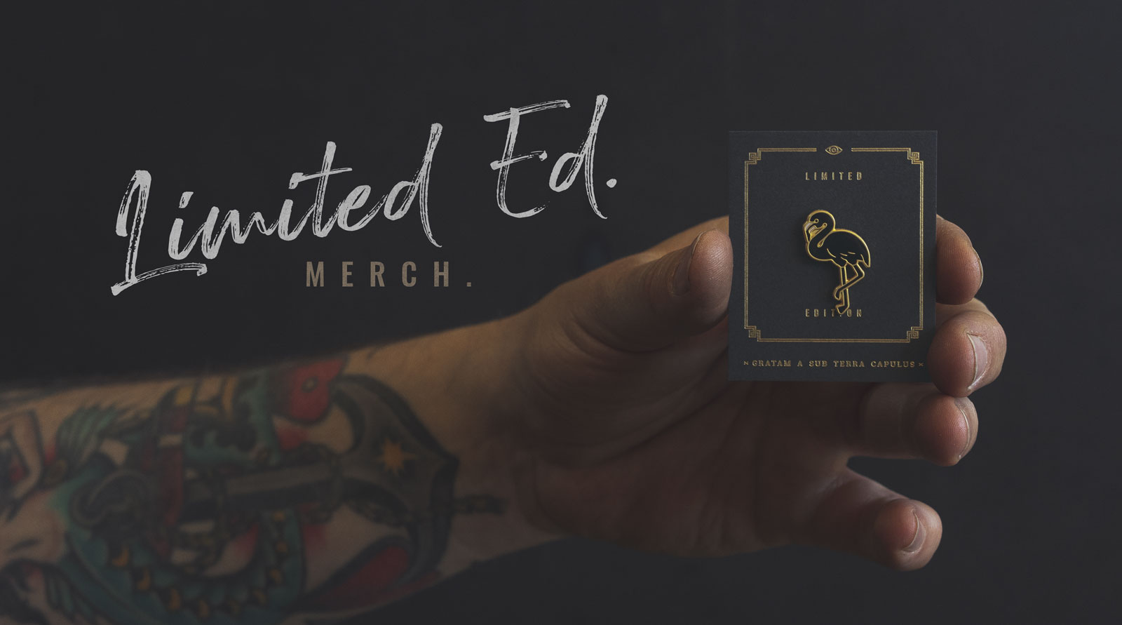 Limited Ed. pins by Underground Coffee Roasters