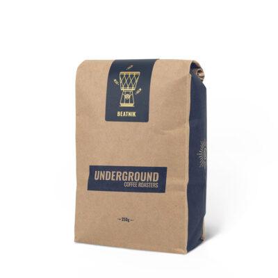 Fair Trade Organic Coffee Blend, Beatnik, by Underground Coffee Roasters